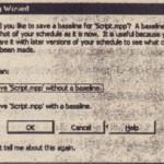 Saving Projed Files