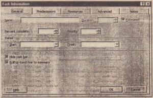 mm1IDIII Enter task information in the TaskInformation dialog box