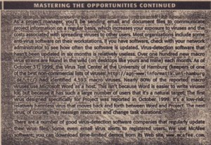 MASTERING THE OPPORTUNITIES CONTINUED