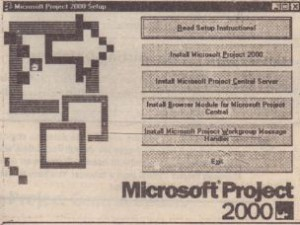 Select Microsoft Project