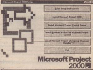 Select Microsoft Project