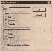 Use an input box to get